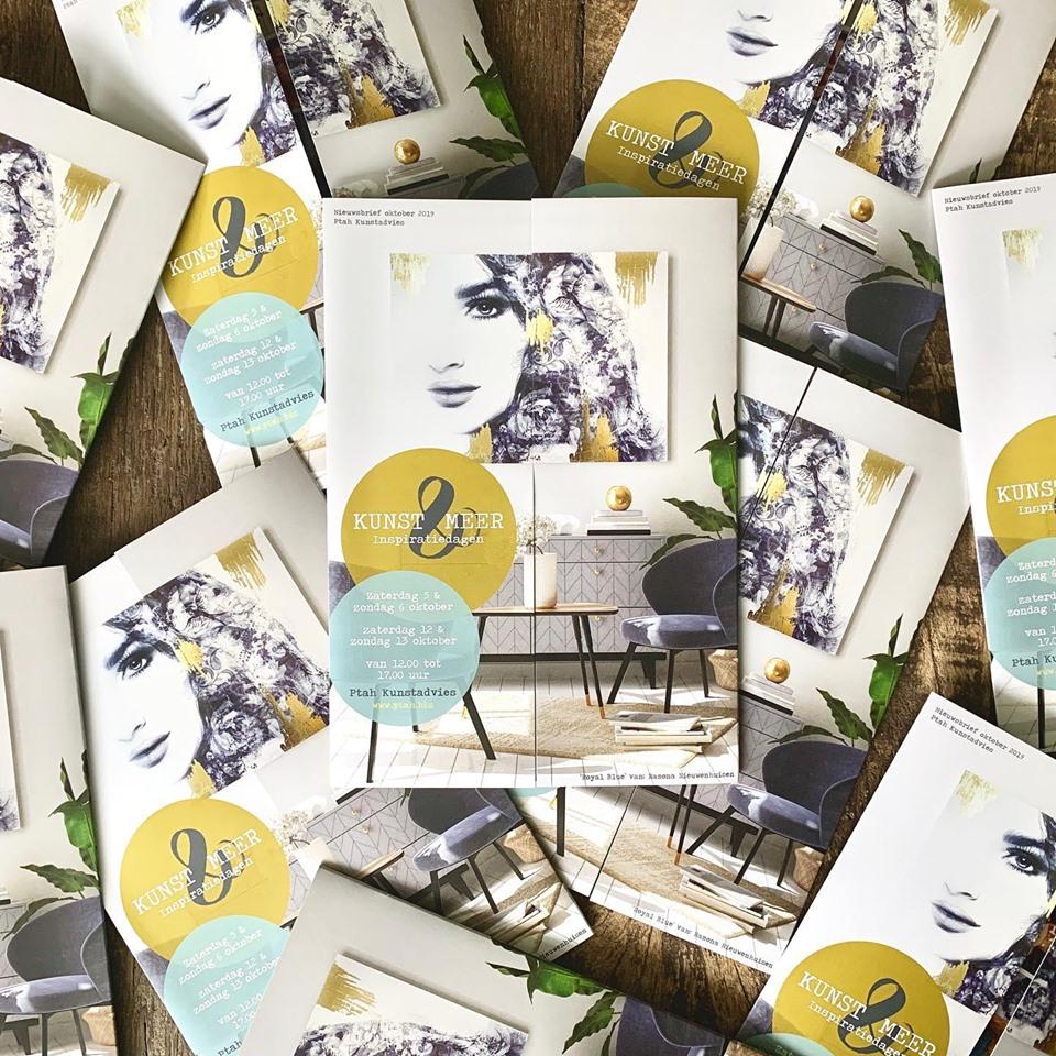 Uitnodiging Kunst & Meer – Inspiratiedagen @Ptah Kunstadvies